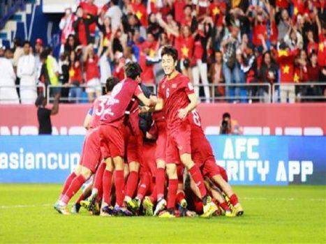 Dấu ấn lớn về thể lực của Việt Nam tại Asian Cup 2019