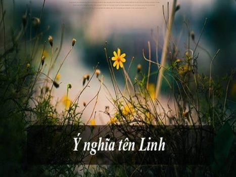 Ý nghĩa tên Linh và bộ tên đệm đầy ý nghĩa