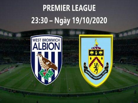 Dự đoán West Bromwich vs Burnley, 23h30 ngày 19/10