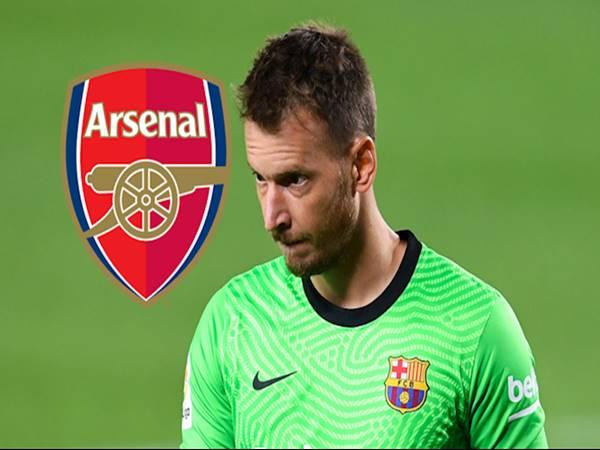 Bóng đá Anh ngày 14/1: Arsenal hướng tầm ngắm đến thủ môn Barca