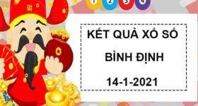 Dự đoán xổ số Bình Định thứ 5 ngày 14/1/2021