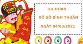 Dự đoán kết quả XS Bình Thuận Vip ngày 04/03/2021