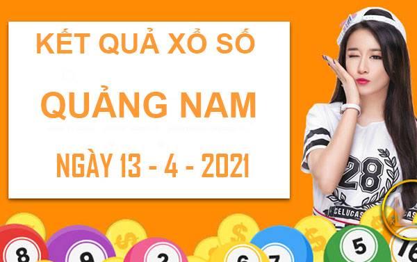 Dự đoán kết quả XS Quảng Nam thứ 3 ngày 13/4/2021