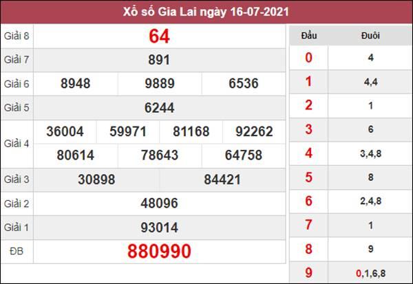 Dự đoán XSGL 23/7/2021 chốt đầu đuôi giải đặc biệt thứ 6