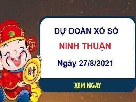 Dự đoán XSNT ngày 27/8/2021 chốt số Ninh Thuận