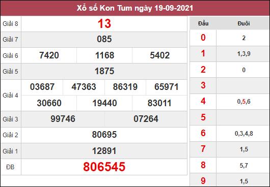 Dự đoán XSKT ngày 26/9/2021 dựa trên kết quả kì trước