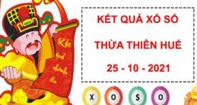 Dự đoán kết quả sổ xố Thừa Thiên Huế ngày 25/10/2021 thứ 2